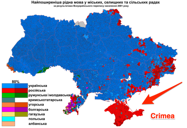 Rusija negina rusakalbių Ukrainoje...